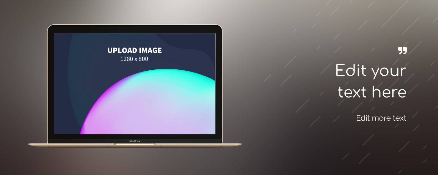 Chrome Store Promotional Marquee 6 template. Quickly edit text, colors, images, and more for free.