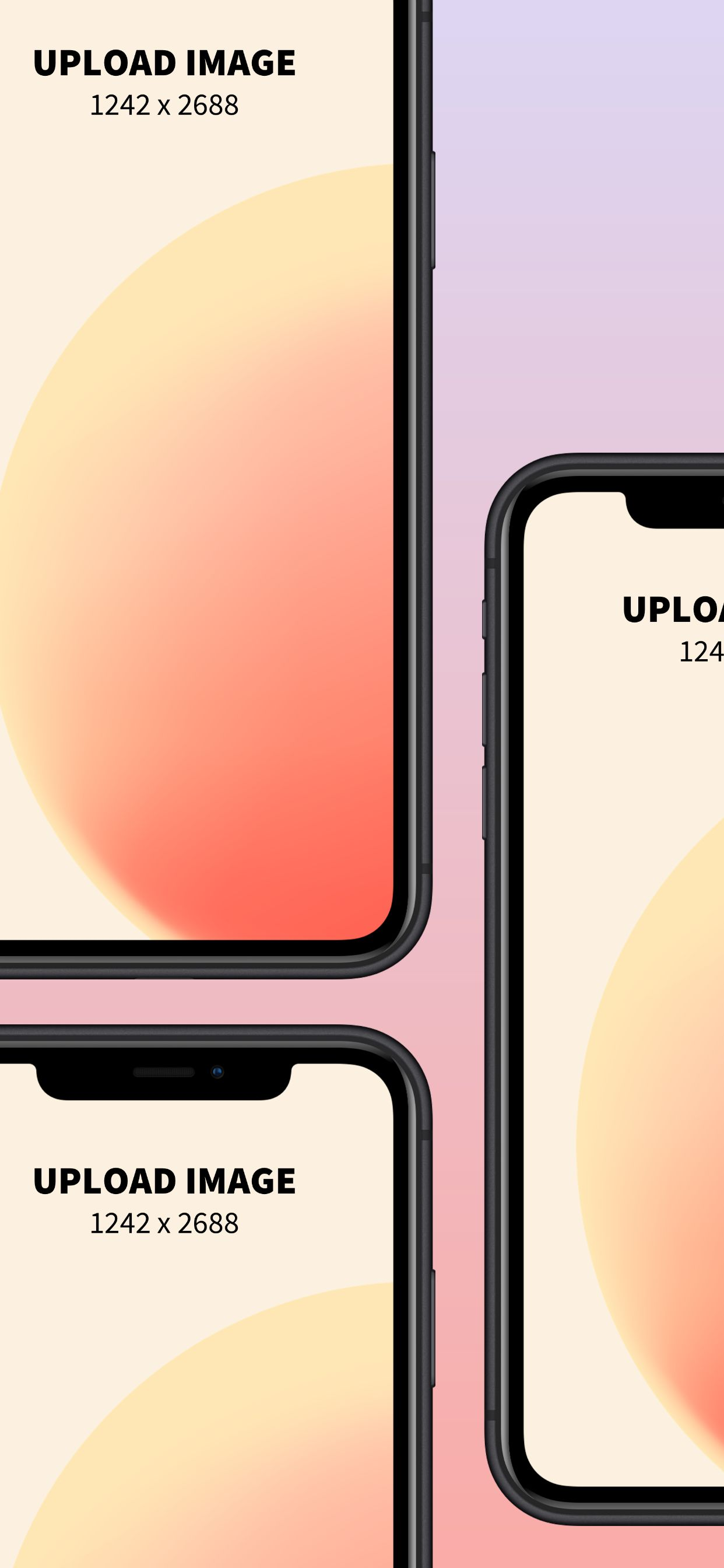 iPhone XS Max Screenshot 11 template. Quickly edit fonts, text, colors, and more for free.