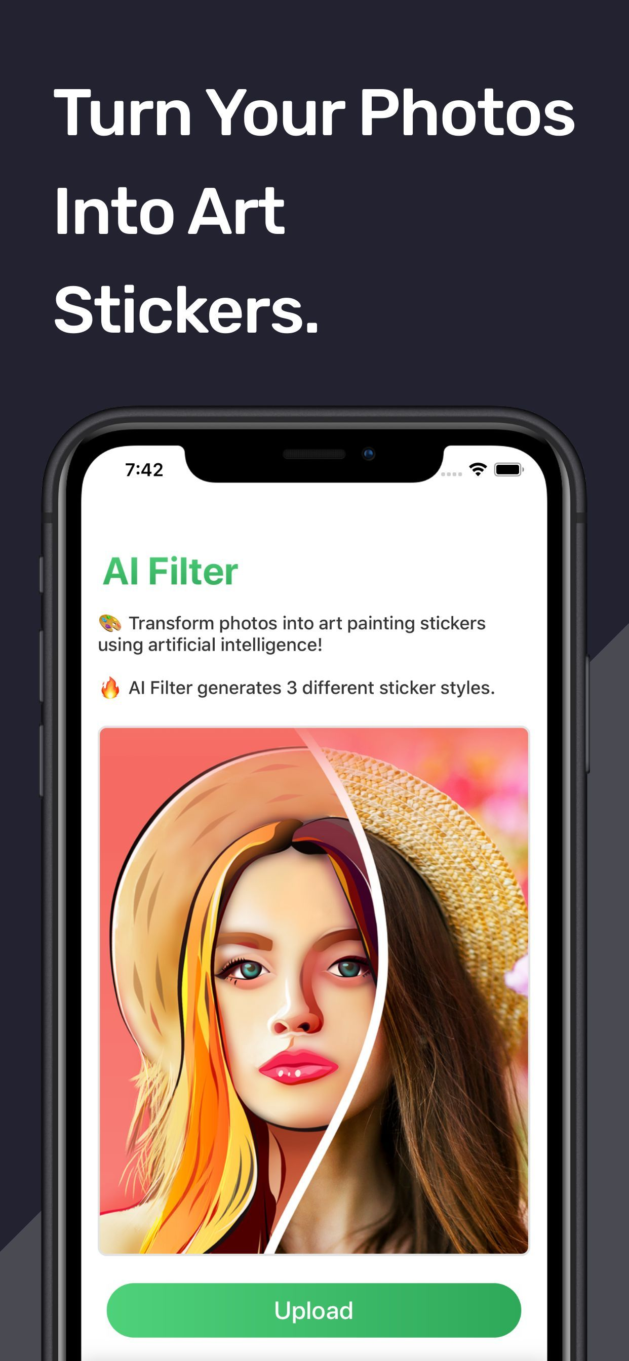 iPhone XS Max Screenshot 23 template. Quickly edit fonts, text, colors, and more for free.