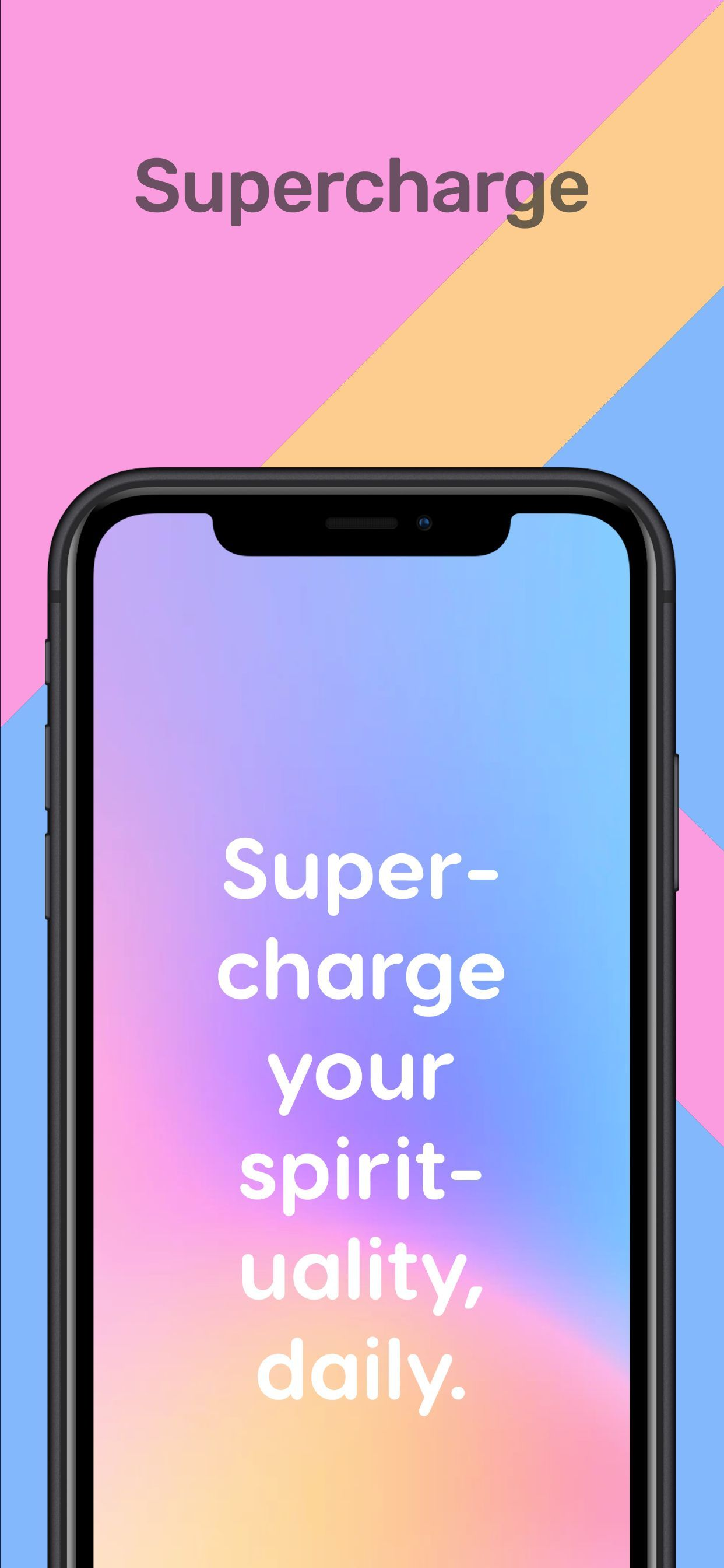 iPhone XS Max Screenshot 36 template. Quickly edit fonts, text, colors, and more for free.