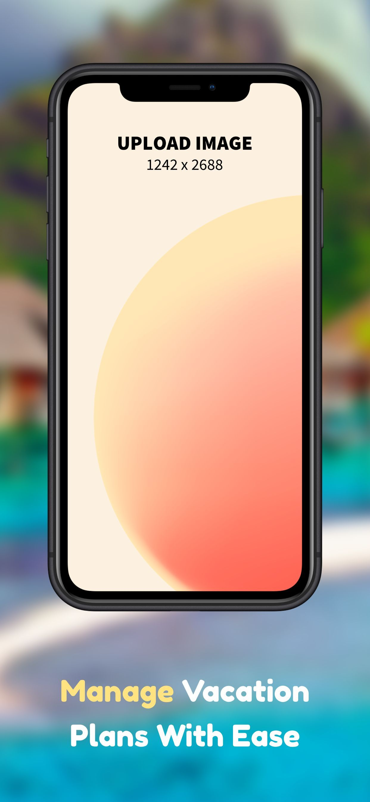 iPhone XS Max Screenshot 58 template. Quickly edit fonts, text, colors, and more for free.