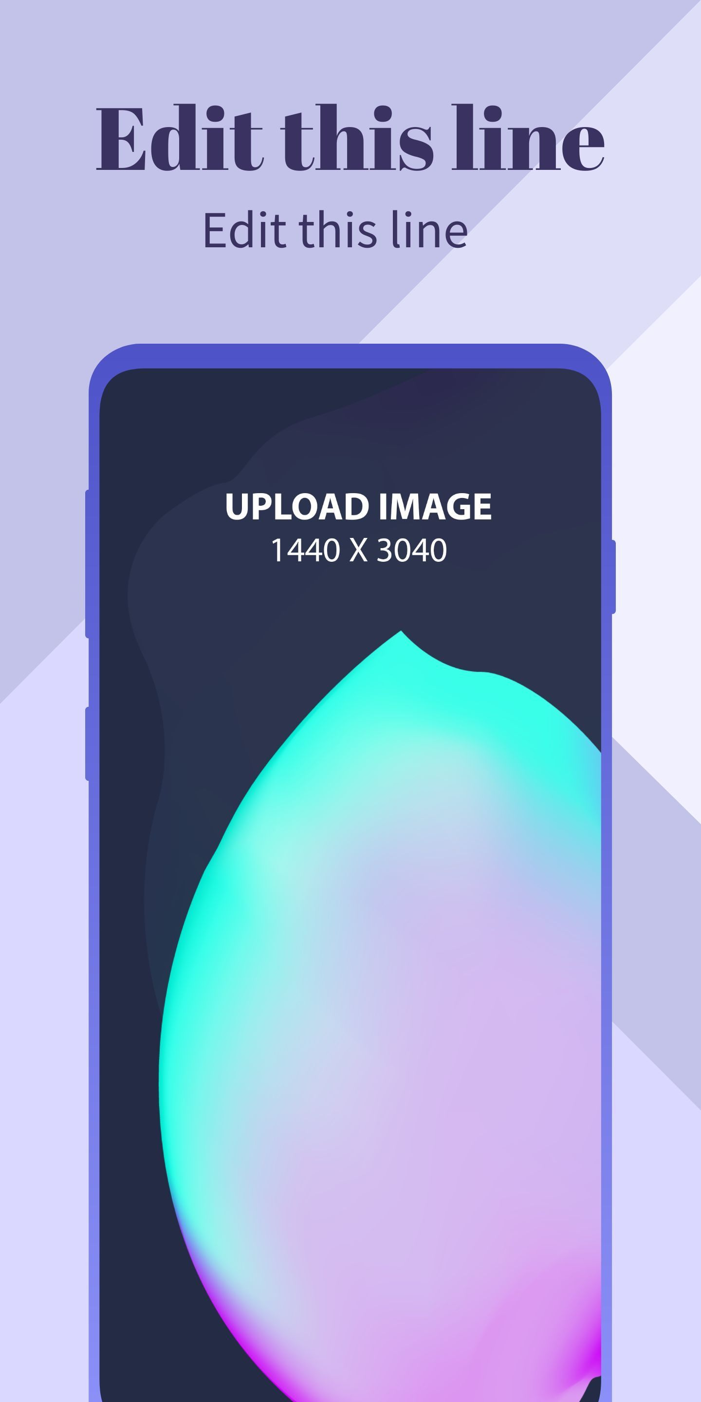 Samsung S10 Screenshot 5 template. Quickly edit text, colors, images, and more for free.
