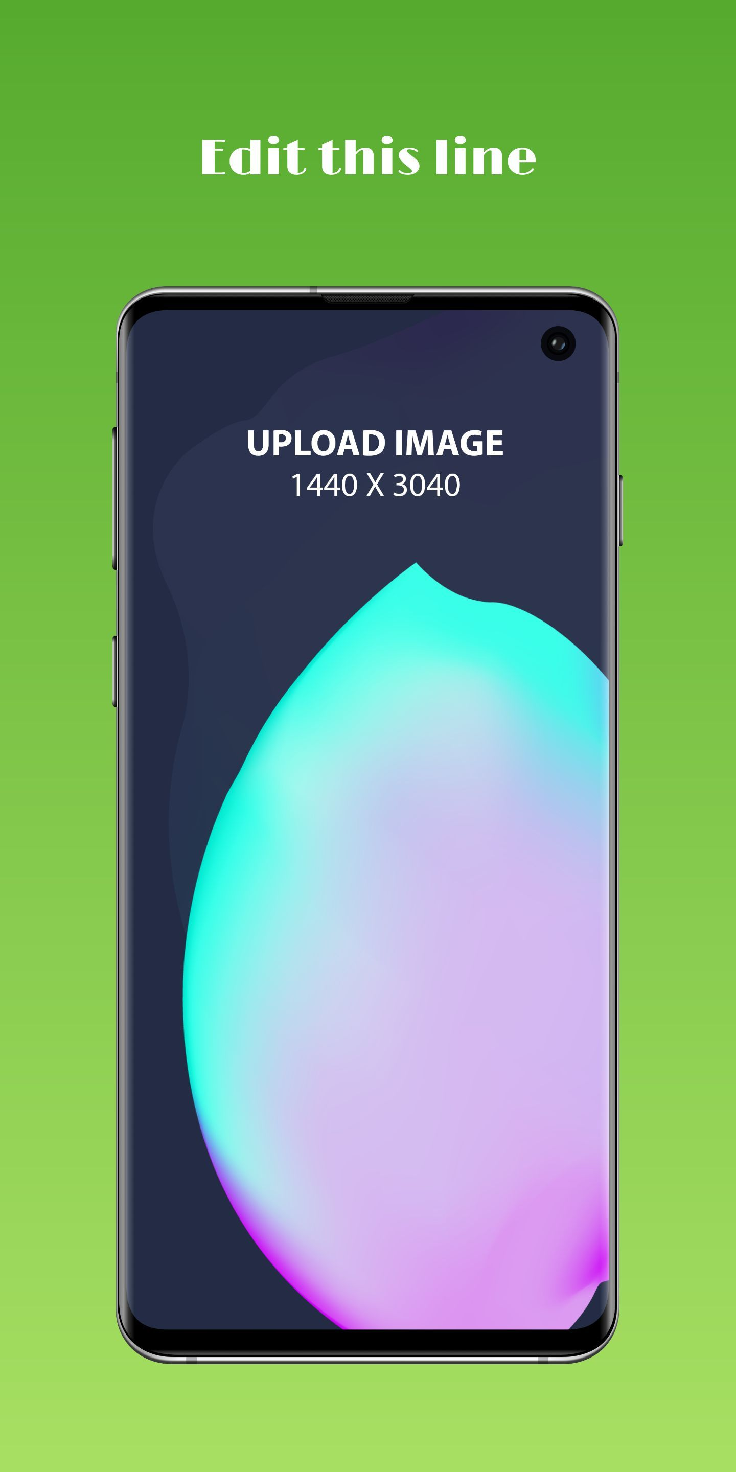Samsung S10 Screenshot 58 template. Quickly edit text, colors, images, and more for free.