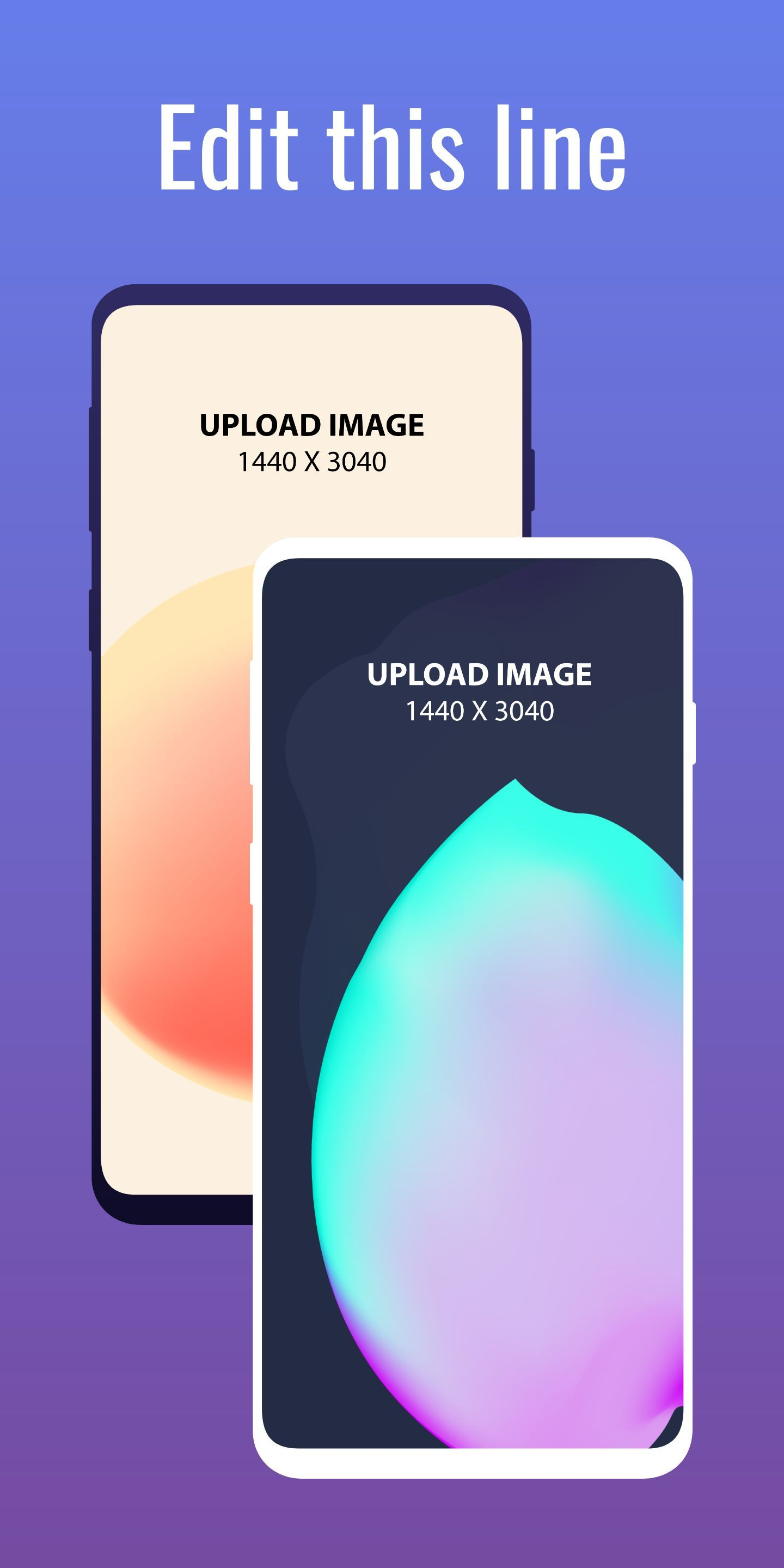 Samsung S10 Screenshot 6 template. Quickly edit text, colors, images, and more for free.
