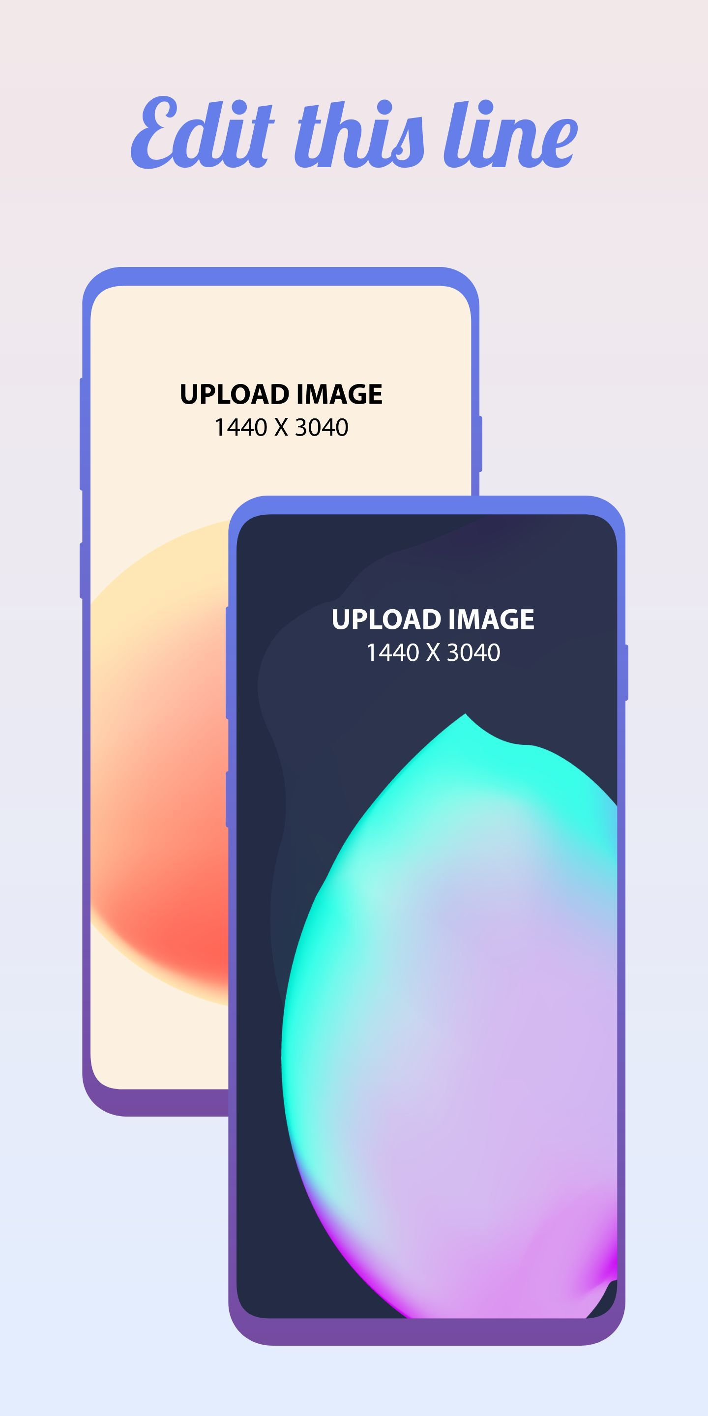 Samsung S10 Screenshot 7 template. Quickly edit text, colors, images, and more for free.