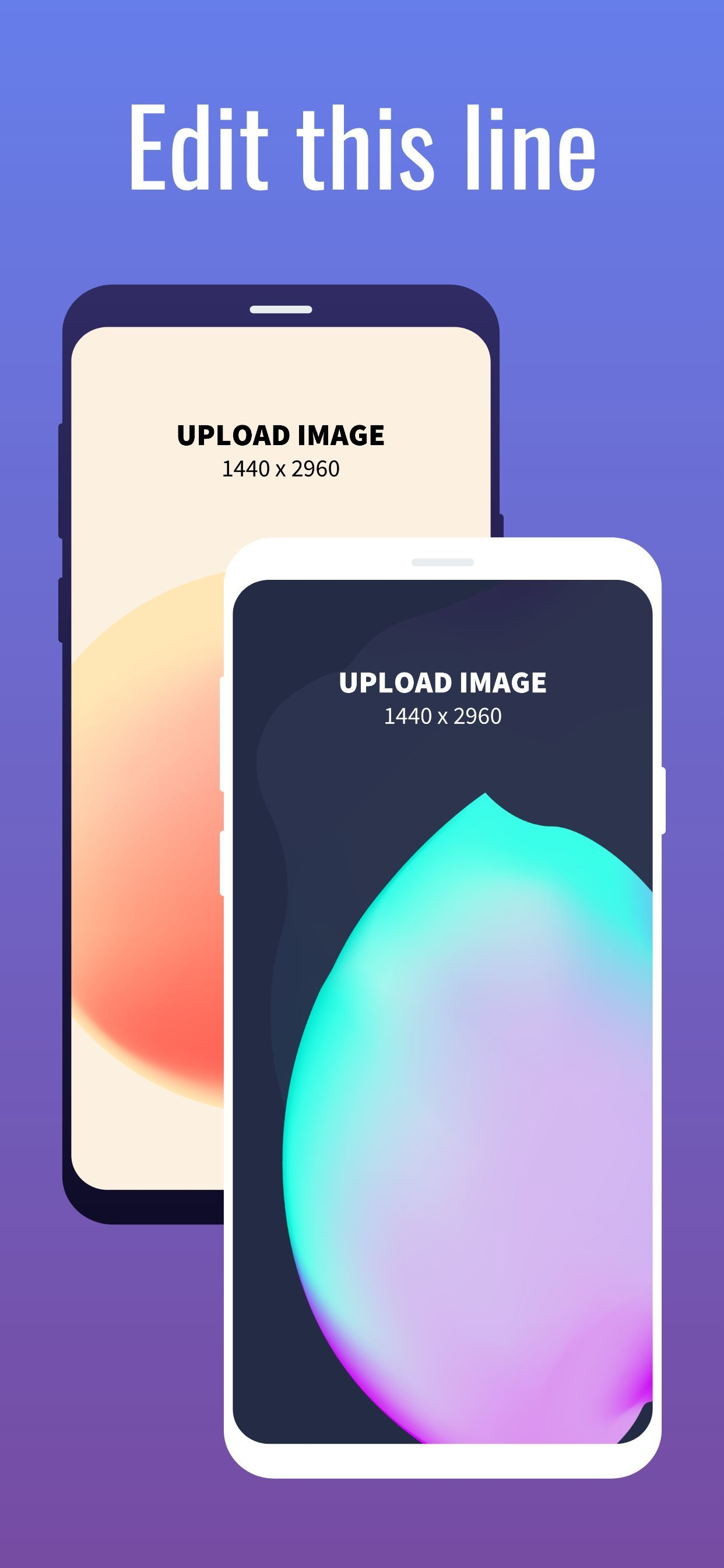 Samsung S9 Screenshot 6 template. Quickly edit text, colors, images, and more for free.